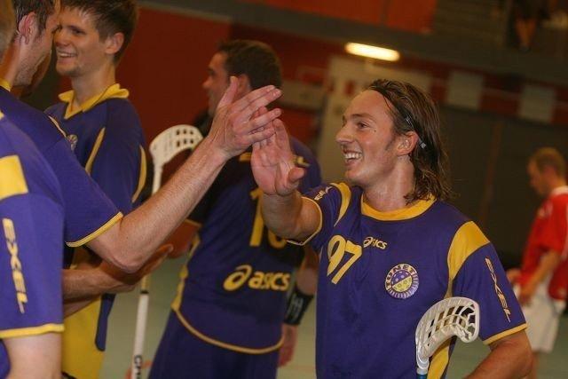 Ole Mossin Olesen er tilbake i norsk innebandy og Tunet etter et par år i Sverige, og landslagsspilleren gjorde «comeback» med et smil.