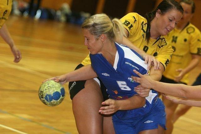 Minst dårlig: Strekspiller Susanne Moe var i hvert fall Njårds minst dårlige spiller mot Sola HK.