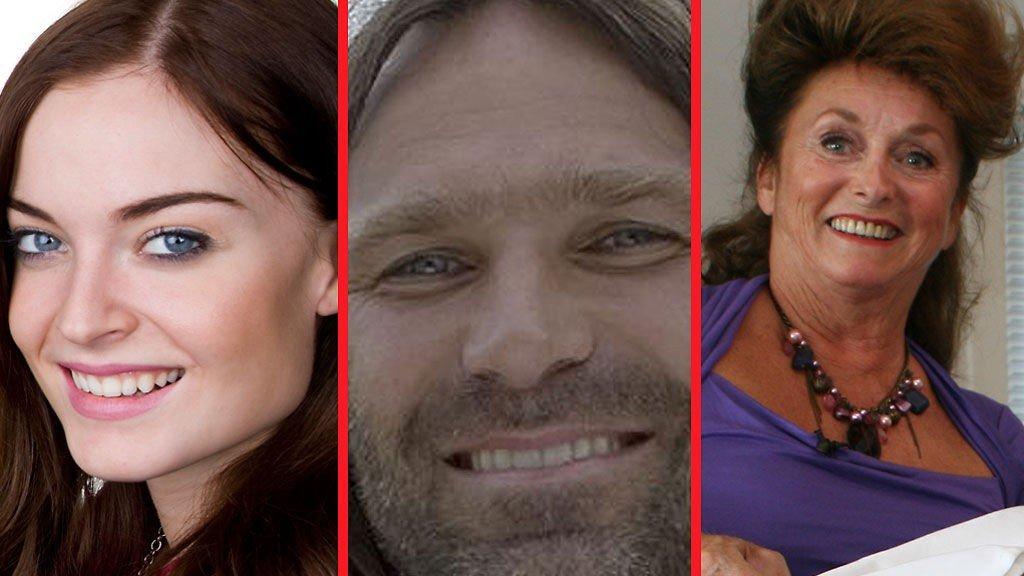 KLARE: Charlotte Thorstvedt, Christer Falck og Eli Hagen er med i høstens storsatsninger på diverse norske TV-kanaler.