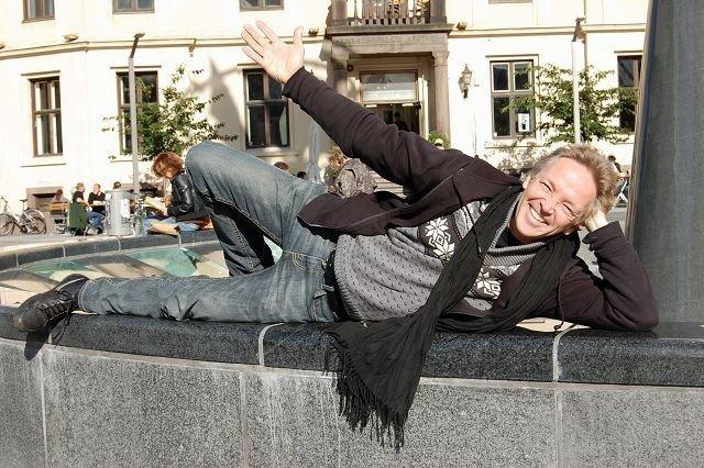 Morten Røhrt stortrives med livet sitt både på og av scenen. FOTO: ELLEN RØNNING