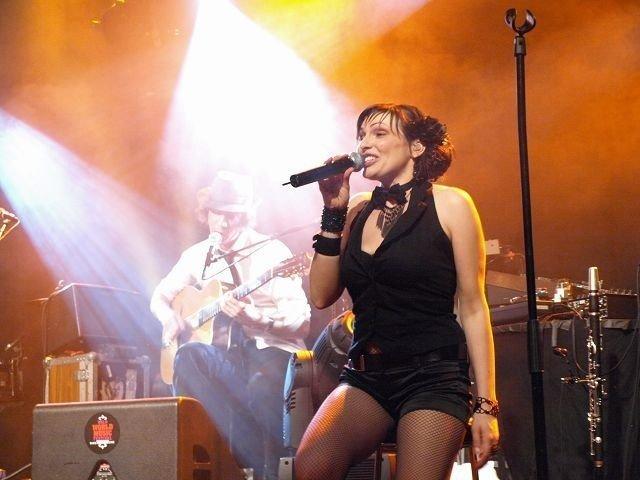 Vokalist Sonia Fernandez Velasco hadde publikum i sin hule hånd fra første til siste sekund.