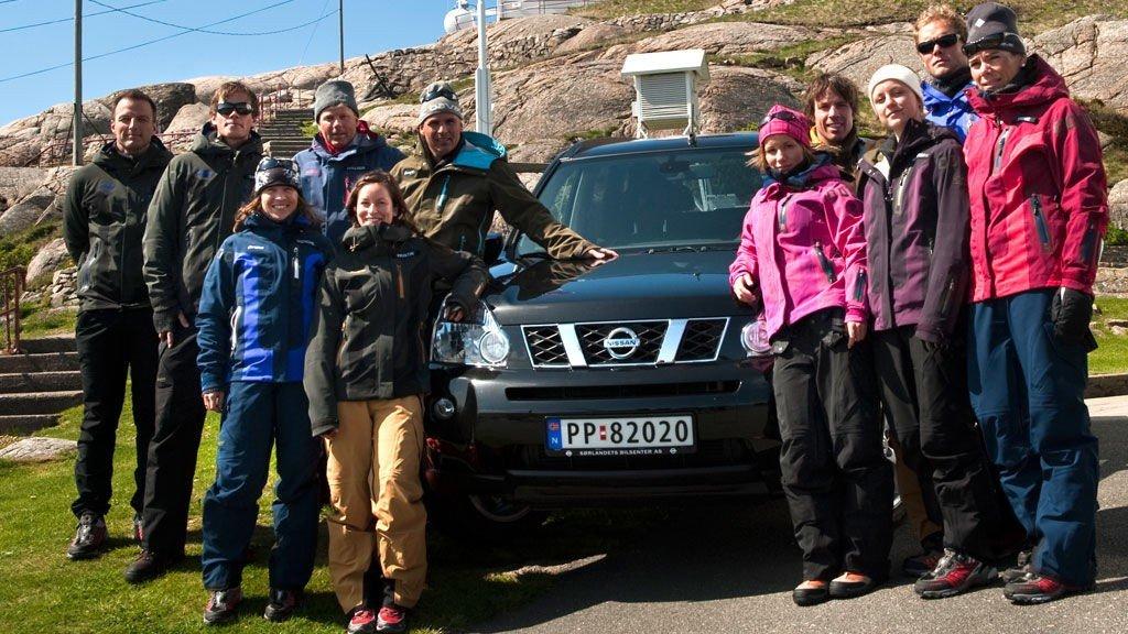 Årets deltakere i «71 grader nord».