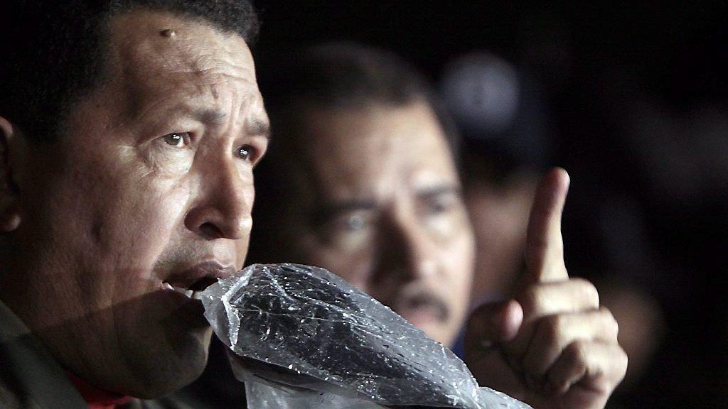FREDSPLAN: Venezuelas president Hugo Chávez skal ha utarbeidet en fredsplan for Libya.