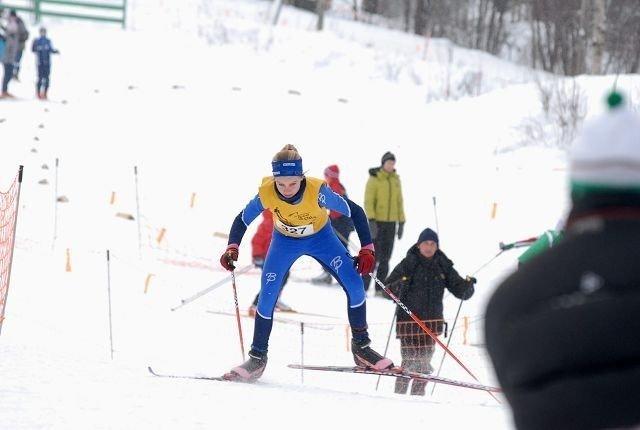 Anine Ahlsand fra Kjelsås var raskest av samtlige i lørdagens renn på Langsetløkka.