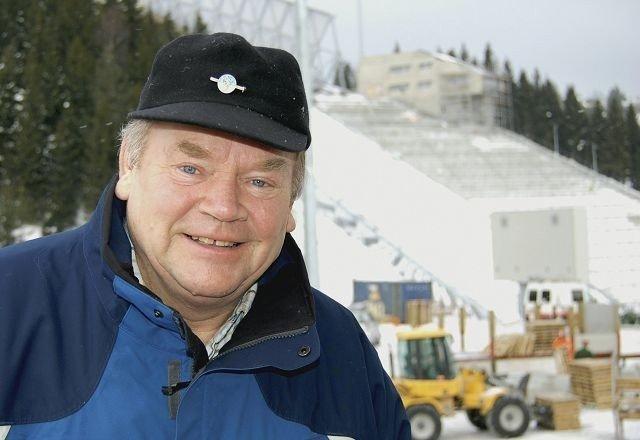 Blir unikt: Anlegget blir unikt i verden når det blir ferdig, mener nå pensjonerte Rolf Nyhus, tidligere mest omtalt som Kollengeneralen. Foto: Grace Brynn