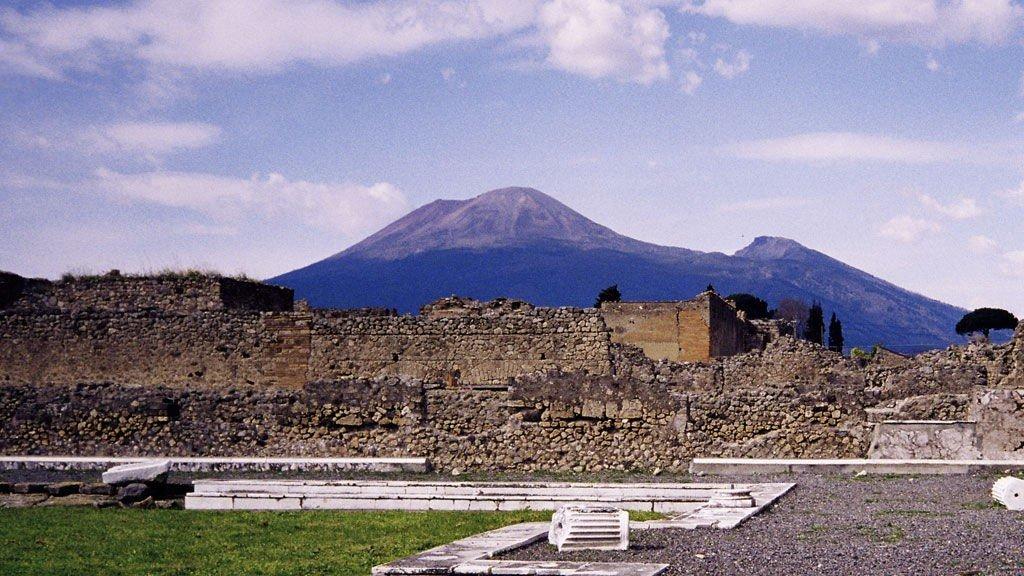 Vesuvius og Pompeii