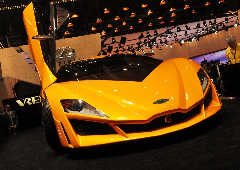 Namir er navnet på dette konseptet, signert Italdesign Giugiaro. Selskapet kan få stor innvirkning på utformingen av den neste Lamborghini-en.