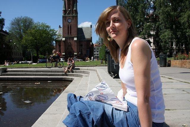 Langøyene er Hanne Clark sin favoritt i sommer-Oslo. Hun drar dit så ofte hun kan.