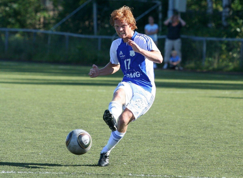 Petter Johansen sørget med sitt frisparkmål i det 72. minutt for å snu kampen mot Oldenborg. Kun to minutter senere ble han matchvinner med sitt 2-1 mål.