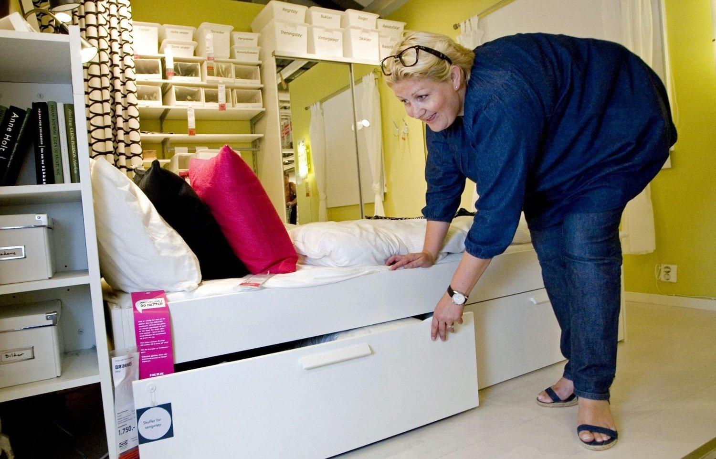 KEA kaller møbler med flere funksjoner for multitaskere. Her ved interiørdesigner Trude Pleym.