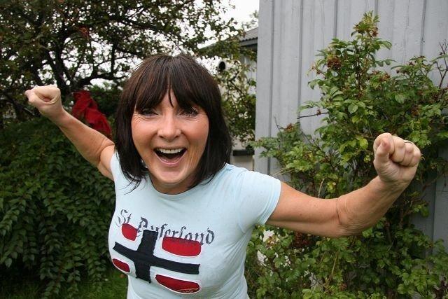 – Jeg gir meg ikke – verken med trening eller dans, sier spreke Kirsti Nordbyhaug (61) fra Kjelsås.