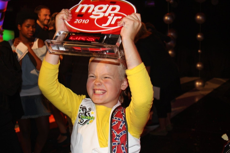 Torstein (10) gikk av med seieren i Melodi Grand Prix jr lørdag kveld.