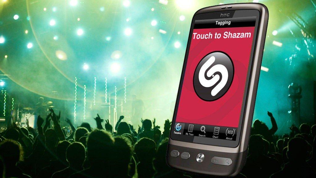 Med Shazam slipper du å lure hva DJ-en spiller.