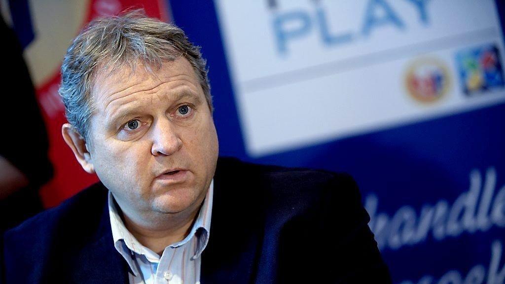 Administrerende direktør i Norsk Toppfotball, Niels Røine.