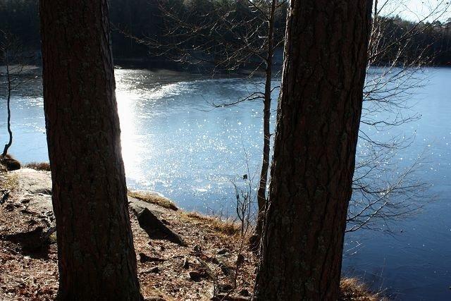 Kombinasjonen is og sol kan gi flotte naturbilder.