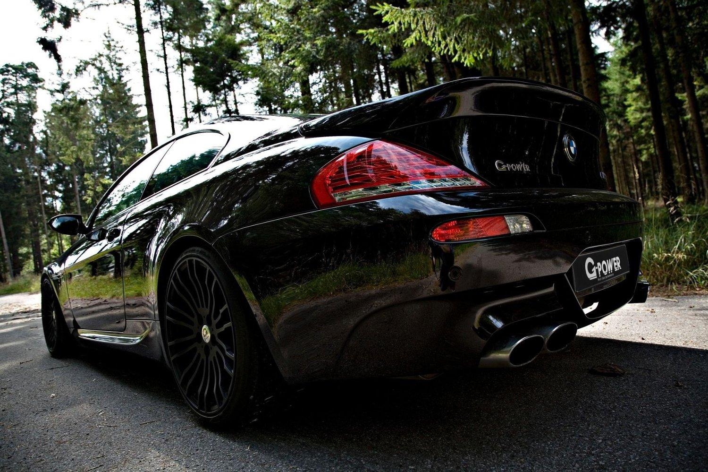 Dette er G-Power M6 Hurricane RR basert på BMW M6. Toppfart: 370 km/t
