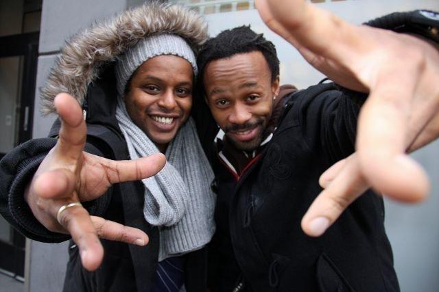 Yosef Wolde-Mariam og Tshawe Baqwa i Madcon har med seg både Stargate, Ne-Yo og Ludacris på sin nye plate Contraband.