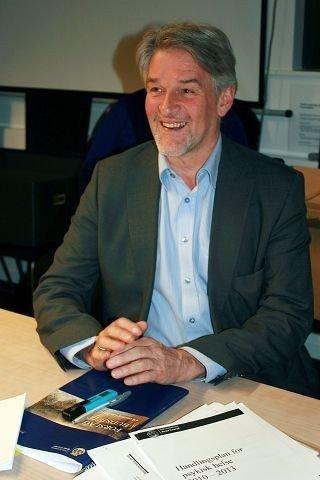 Bydelsdirektør Helge Jagmann, klar for BU-møte på torsdag.