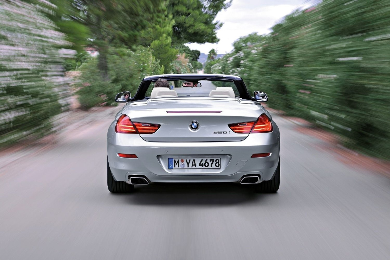 BMW 650i kabriolet - takløst på første klasse.