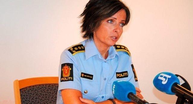 Politiinspektør ved Vold- og sedelighetsseksjonen, Hanne Kristin Rohde, orienterte onsdag ettermiddag om det dramatiske likfunnet på Fredensborg. Her fra en tidligere pressekonferanse.