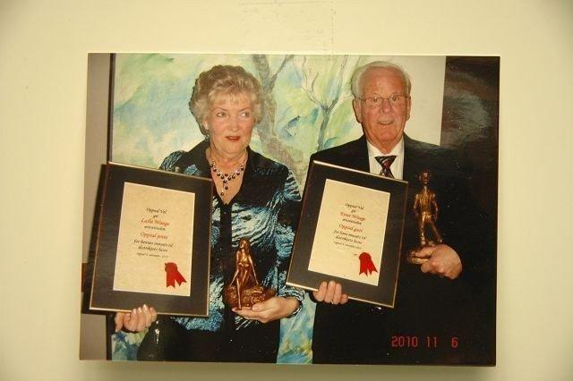 Laila og Knut Waage.
