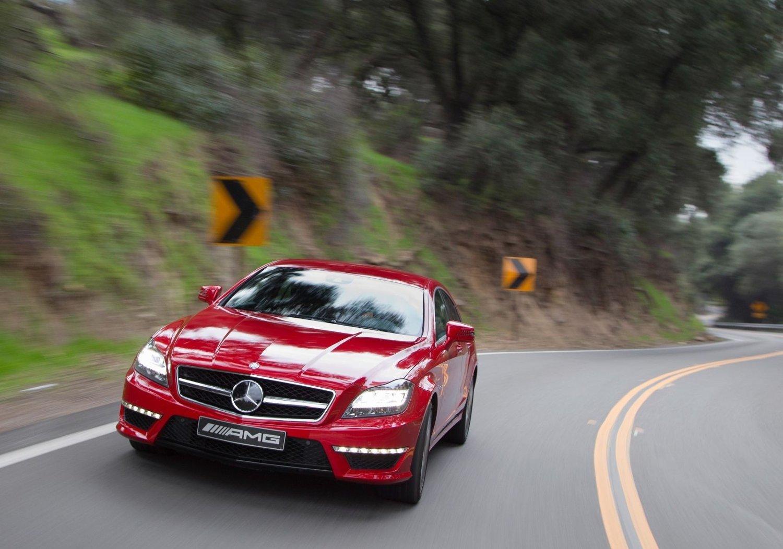 Nye Mercedes CLS 63 AMG, raskere og mer effektiv