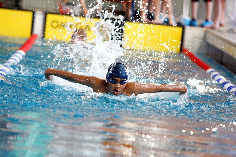 Maiuran Loganathan i Kalbakken-klubben Speed viste god form i OI Open på Norges idrettshøgskole.