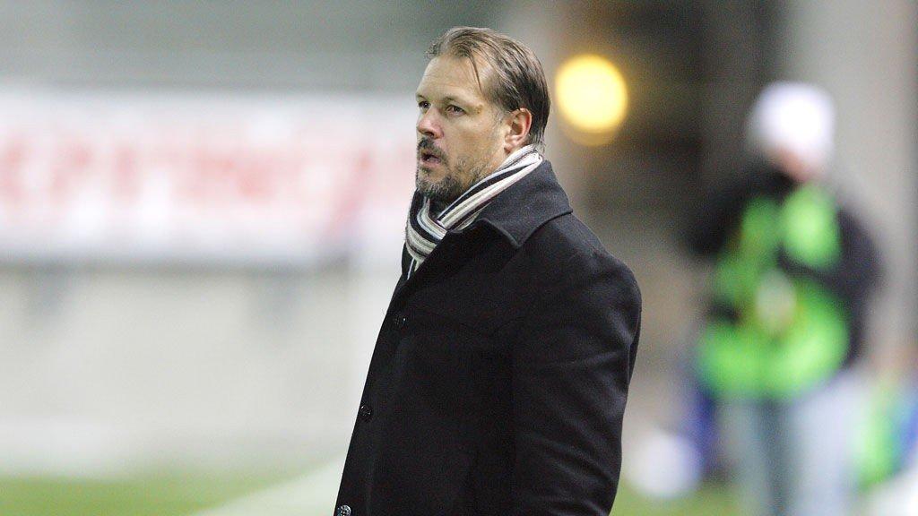 SKUFFET: Kjetil Rekdal er skuffet over både tap og dårlige spilleforhold.