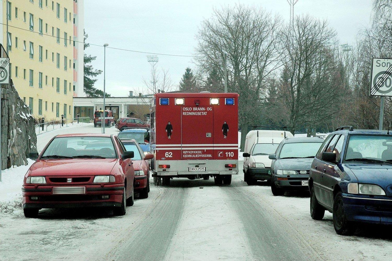 Både Brannvesenet og renovasjonsetaten har opplevd å ikke komme seg frem i Oslos gater i vinter.