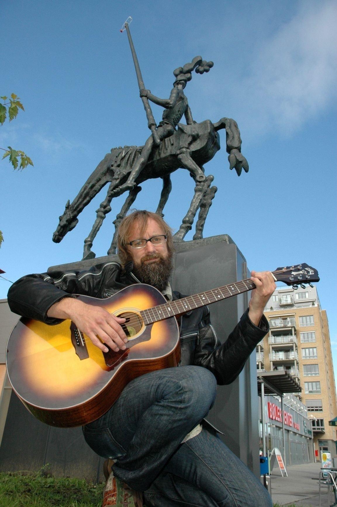 Egil Hegerberg skal endelig ha konsert på Bøler.