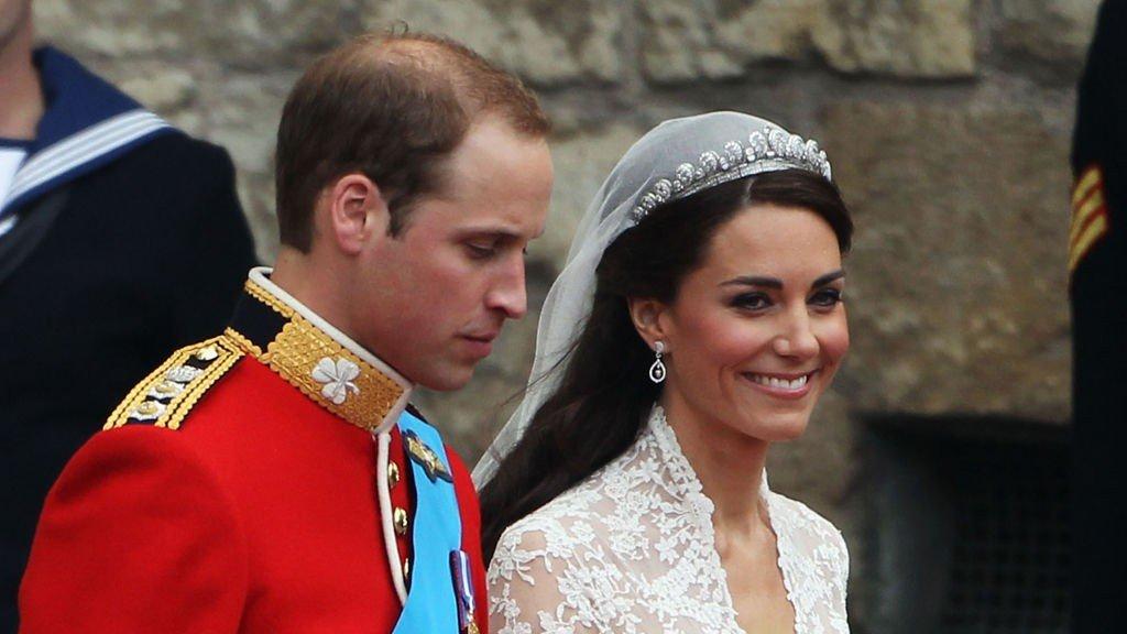 Prins William og hertuginne Kate giftet seg 29. april 2011.