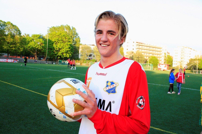 Ola Sætherbakken (18) fra Ullevål var den store helten etter kampen mot Fagerborg mandag.