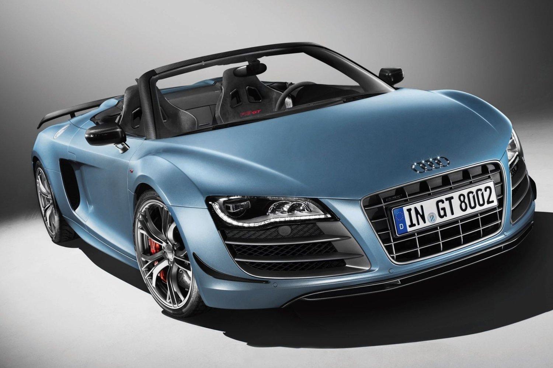 Her er Audi R8 GT Spyder