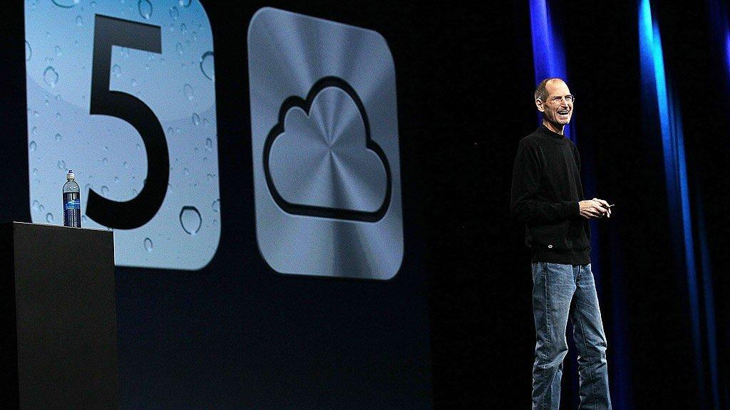 APPLESJEFEN: Steve Jobs presenterte selskapets nyheter under World Wide Developers conference 2011