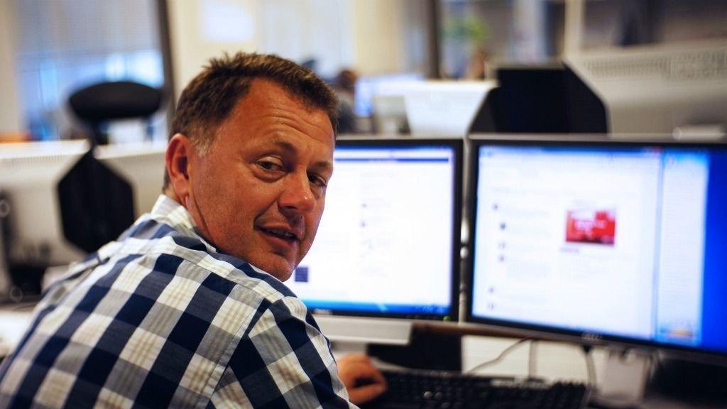 - Tegnerne har frie hender til å spøke med hvem de vil, sier Gunnar Stavrum, ansvarlig redaktør i Mediehuset Nettavisen.