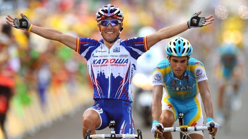 Joaquim Rodriguez Katjusja Alberto Contador Astana Tour de France 2010
