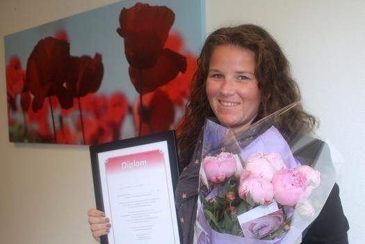 Janicke Winge fra Årvollskogen er kåret til byens flotteste representant for omsorgsarbeiderne.