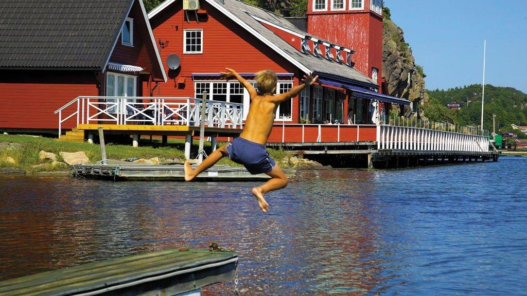 De kongelige liker seg best på Hankø i ferien.