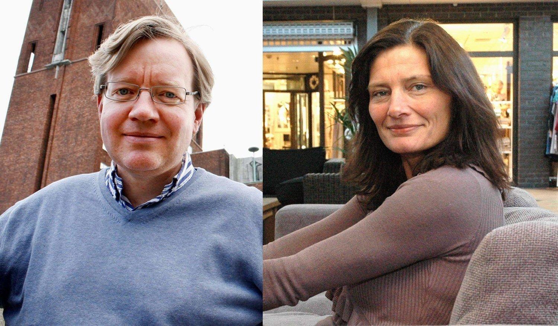 Skolebyråd Torger Ødegaard (H) og byrådslederkandidat Libe Rieber-Mohn (Ap)er sterkt uenige om karakterer i barneskolen.