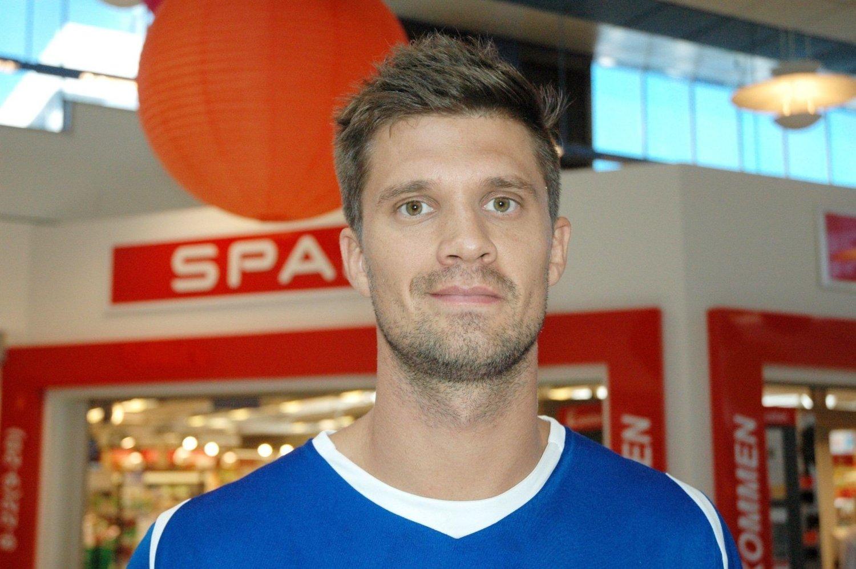 Håndballstjerne og Kjelsås-gutt Kristian Kjelling, som for tiden spiller for AaB Håndbold i Aalborg, Danmark.