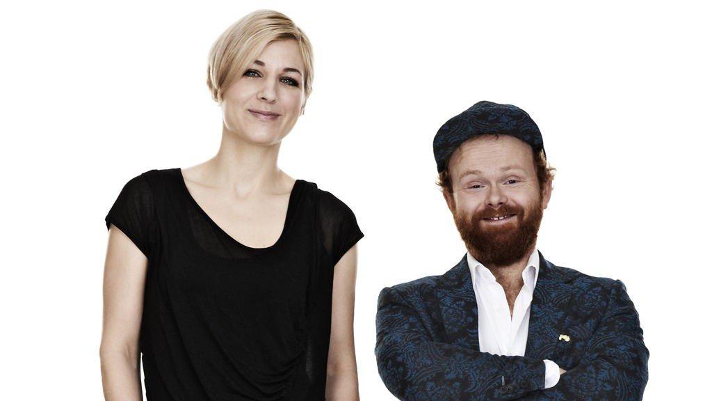 PROGRAMLEDERE FOR IDOL 2011: Guri Solberg og Ravi.