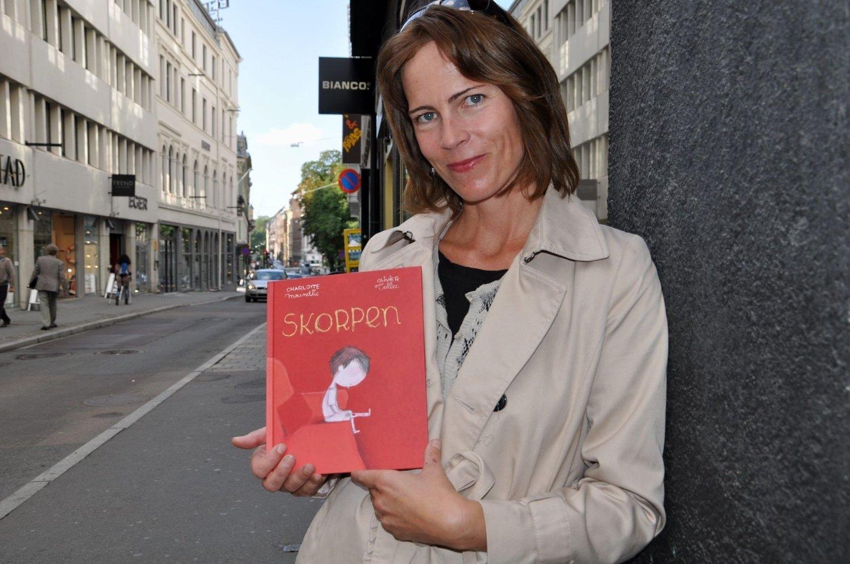 Snakker om sorgen: Marte Gresvik er stolt over boken som nå gis ut på Gresvik Forlag. FOTO: ELISABETH C. WANG