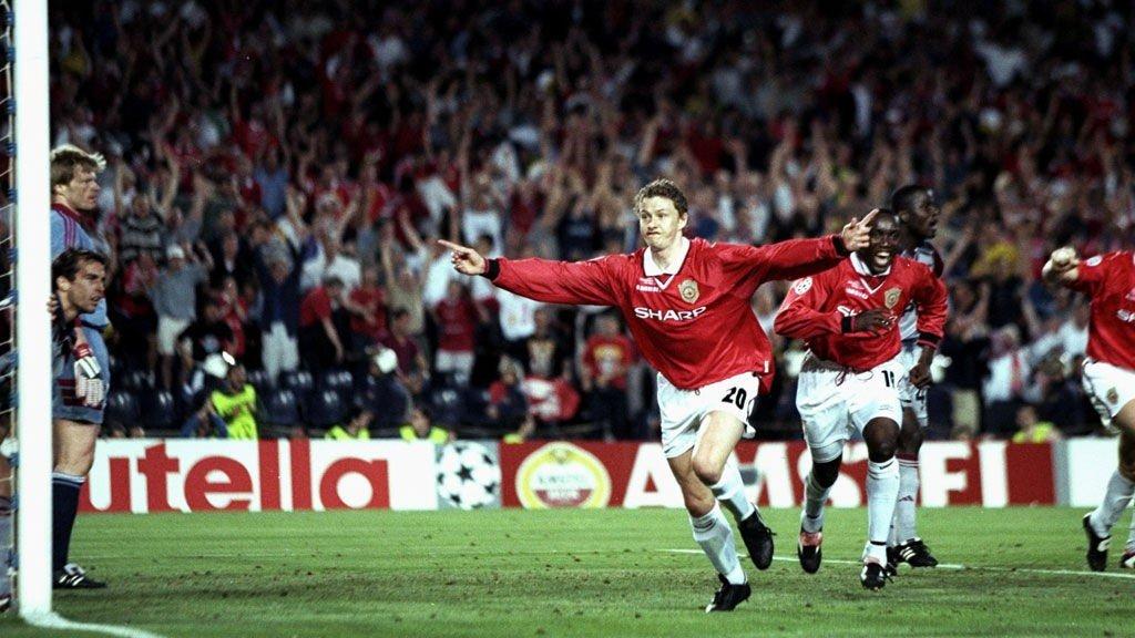 26. mai 1999: Ole Gunnar Solskjær skriver seg inn i historiebøkene, etter å ha avgjort Champions League-finalen på overtid.