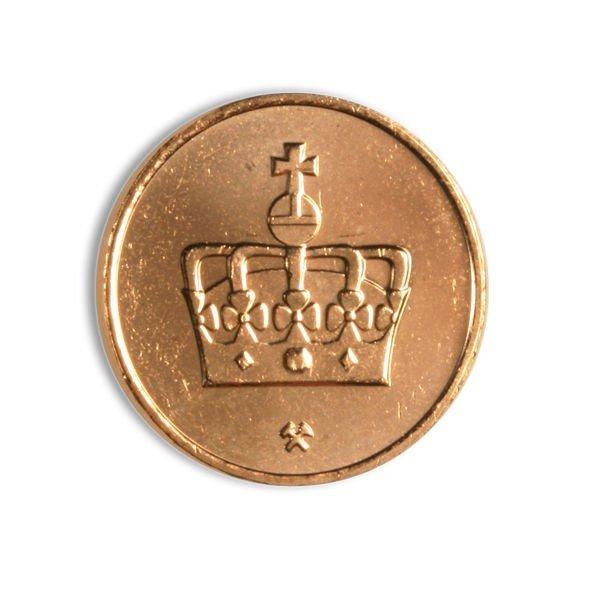 50-øringen fjernes 1. mai 2012. Det betyr at oppgjør i kontanter skal etter avrundes til nærmeste hele krone etter denne datoen.