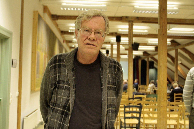 FORLOT MØTET: Geir Hem fra Rødt forlot plansmie-møtet om Teaterplassens framtid, initiert av Bydel Gamle Oslo og Plan- og bygningsetaten, i protest.