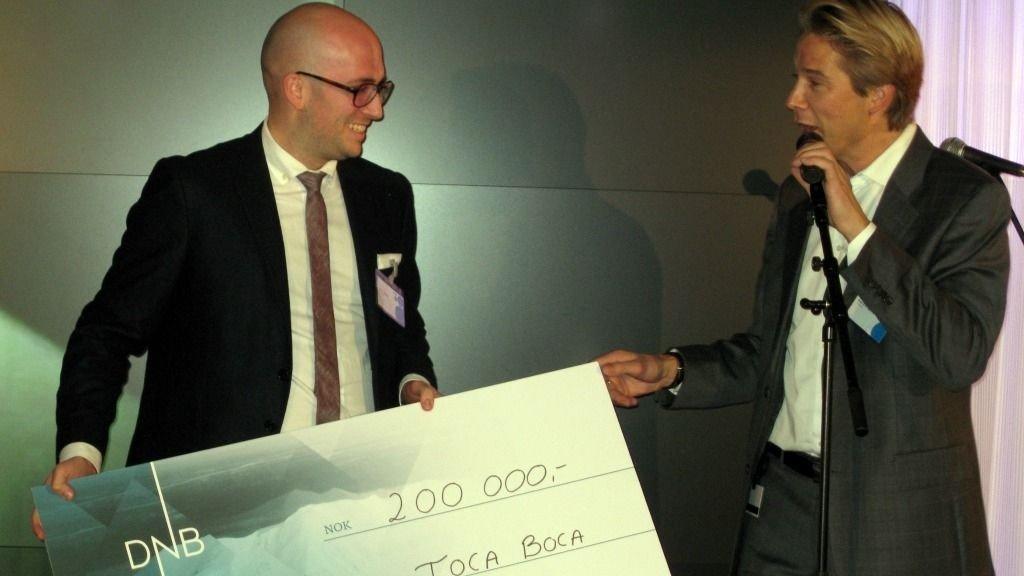 Under Digital Winners-konferansen i går kunne Telenor annonsere årets vinner av Telenor Digital Winners Prize 2011. Prisen går til Toca Boca - et svensk selskap som lager digitale leker for barn.