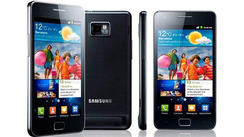 Samsung Galaxy S II er bestselgeren.
