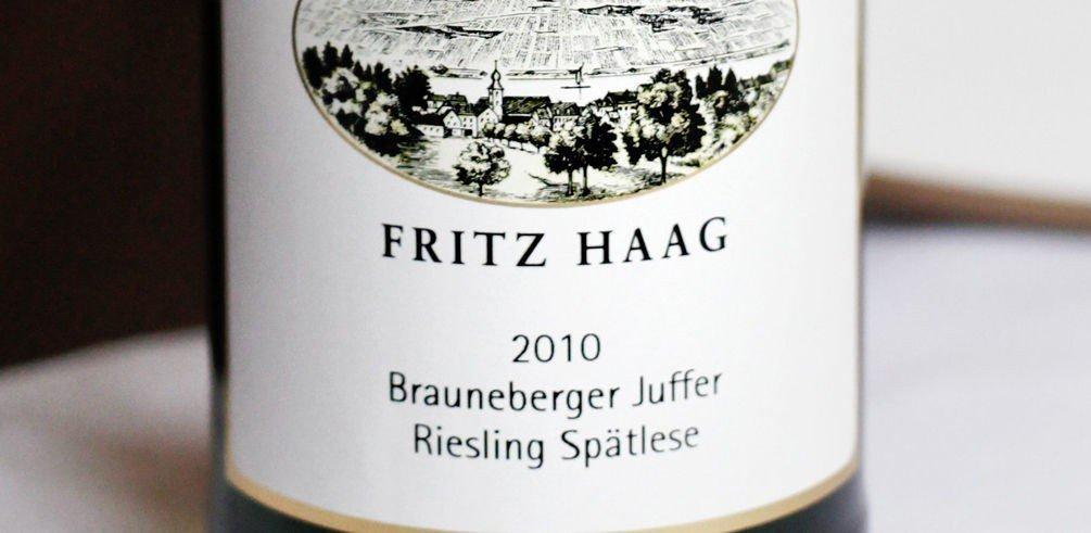 Riesling Spätlese, Brauneberger Juffer, F. Haag 2009 (best.nr. 4843001, kr 192,90, bestillingsutvalg)