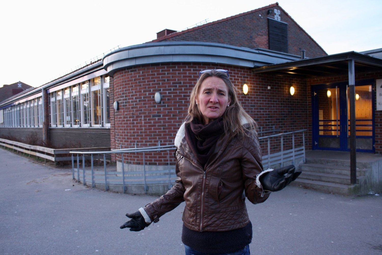 FORBANNET: Julie Allergoth ved Ljan skoles FAU føler at politikerne nå går imot tidligere løfter om at alle Bydel Nordstrands elever skal få ungdomsskoleplass i bydelen.