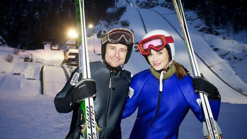 Daniel Franck og Jenny Skavlan.